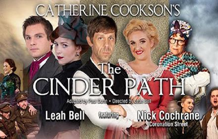 Poster of The Cinder Path cast in vintage clothing