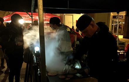 The Full Moon Street Food Market