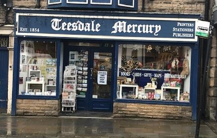 The Teesdale Mercury Shop