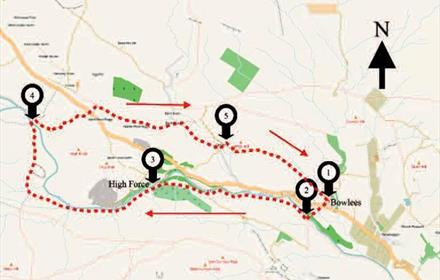 Walking in Teesdale - High Force and Upper Teesdale Circular