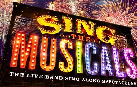 Sing the Musicals in lights