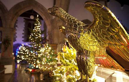 Christmas Tree Display at St. Mary's Parish Church