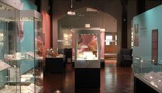 Romans on display in the Museum of Archaeology