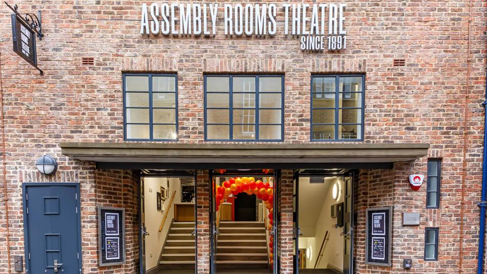 Enterance to The Assembly Rooms Theatre