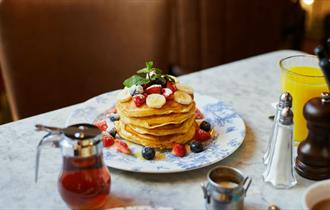 Bill's at Durham City Buttermilk Pancakes