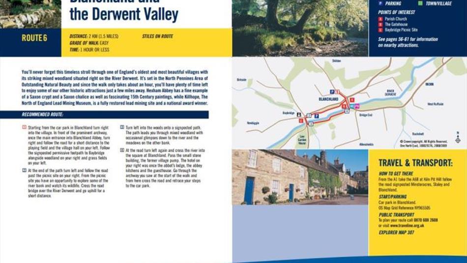 Information on Blanchland Circular Walk