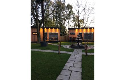 Bowburn Hall Woodland Lodges