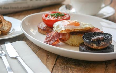 Robineau Café breakfast