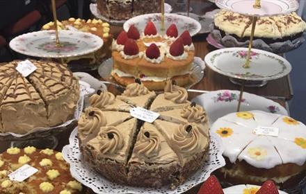 Cake at REfUSE Cafe