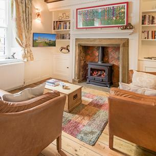 Living room at Cheeseborough House Barnard Castle County Durham