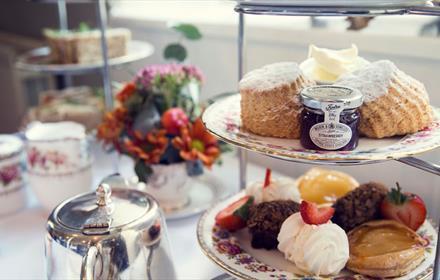 Afternoon tea at Coghlans at Barningham Bakery