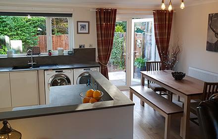 Kitchen dining room Devonshire haven