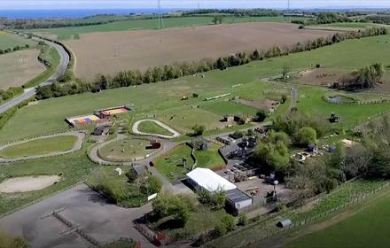 Down at the Farm overhead site image