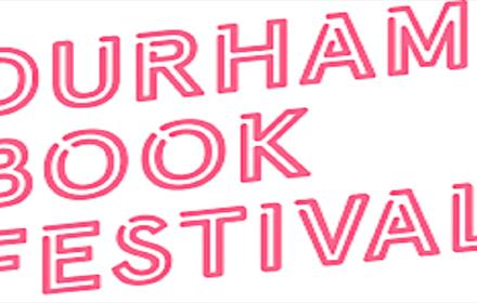 Durham Book Festival 2021 in Pink Writing