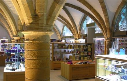 Inside Cathedral Shop