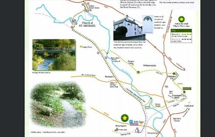 Durham City to St Michaels and all Angels Walk