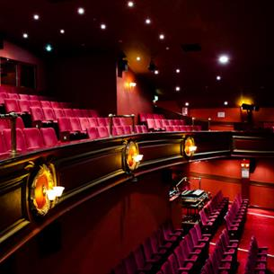 seating area inside the Empire Consett theatre