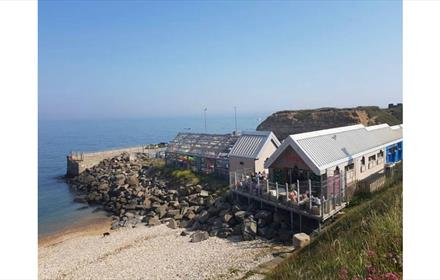 Flamingo Bar and Cafe at Seaham on the Durham Coast
