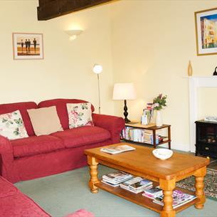 Garth Cottage living room