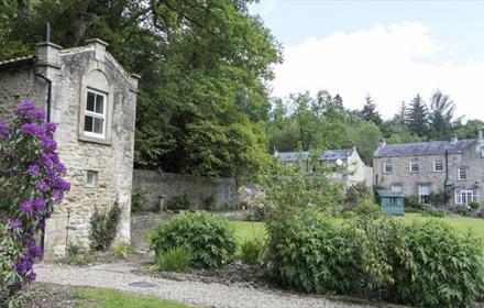Grove House B&B at Hamsterley Forest with the Dovecote in the foreground