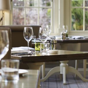Seats at Headlam Hall Restaurant