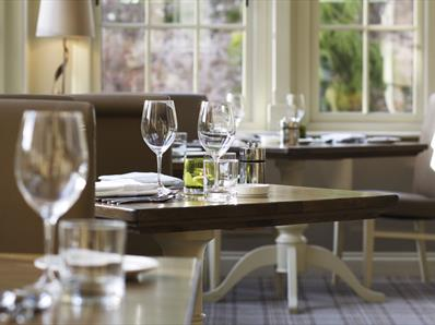 Seats at Headlam Hall Restaurant