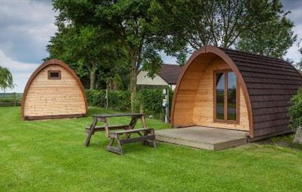 Hillcrest Park Camping Pods