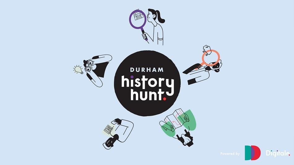 Durham History Hunt Header