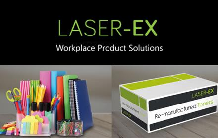 Laser Ex Workplace Product solutions - selling office stationery and supplies