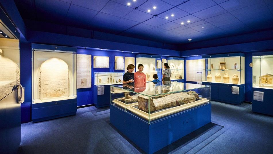 The Egypt Gallery at the Oriental Museum