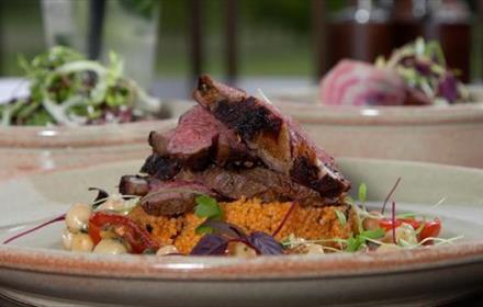 Rockliffe Brasserie food-lamb
