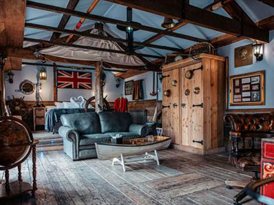 Captain Cook's Cabin at the South Causey Inn in County Durham.