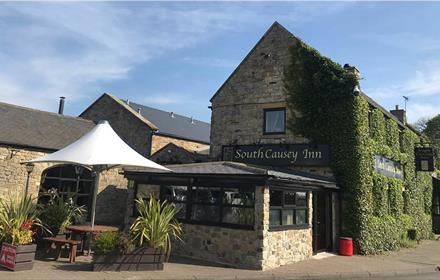 The South Causey Inn Hotel Entrance in County Durham.