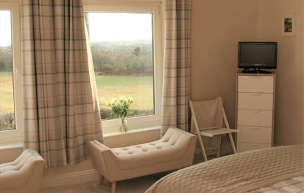 Double bedroom at 1 Twizell Lane
