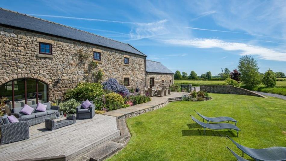 The Mill Granary self-catering at Ingleton County Durham