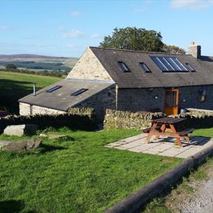 Exterior of building at Carrs Farm Bunkhouse Durham