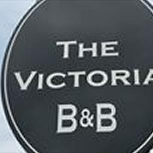 The Victoria pub sign