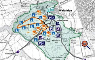 Picnic Spot: Waldridge Fell (cycling not permitted)
