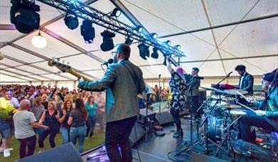 Live music at Beer & Cider by the Sea at the Eastbourne Beer Festival