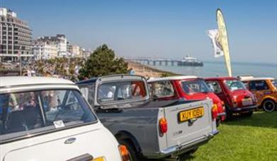 Car at the Eastbourne Magnificent Motors event