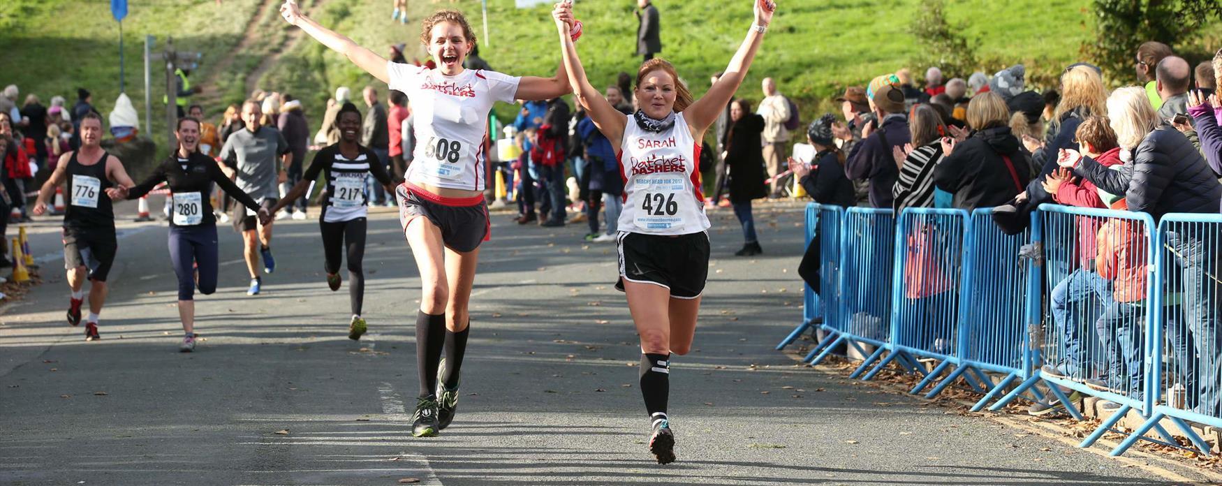 That finish line feeling