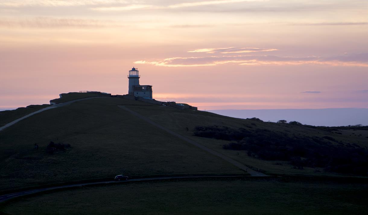 Belle Tout Lighthouse at Dusk