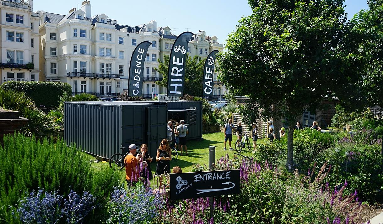 Cadence Hub entrance for Visit Eastbourne