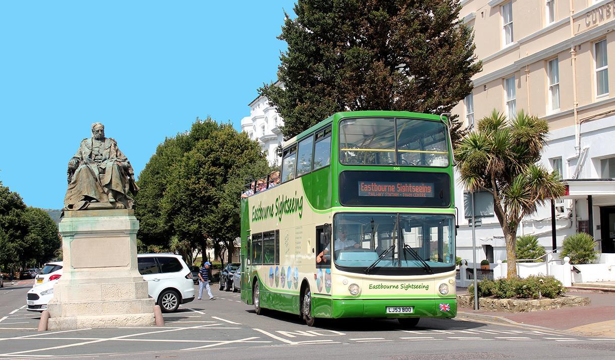 Eastbourne's Open Top Bus