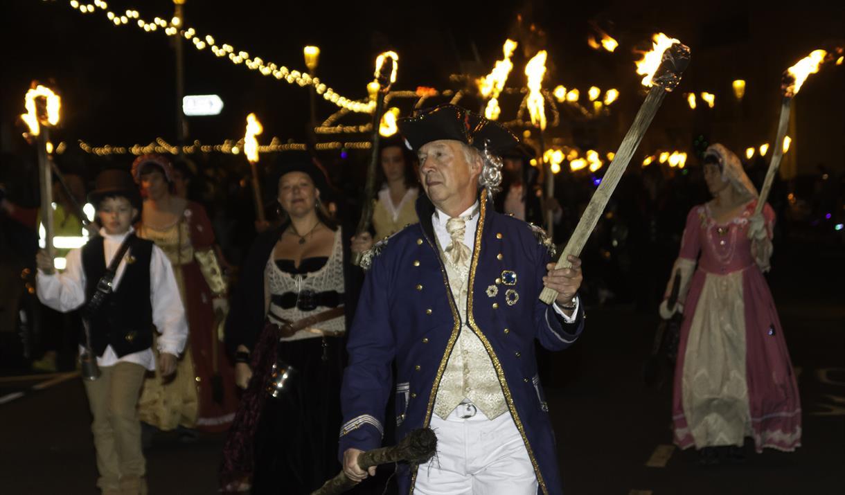 Eastbourne Bonfire Procession