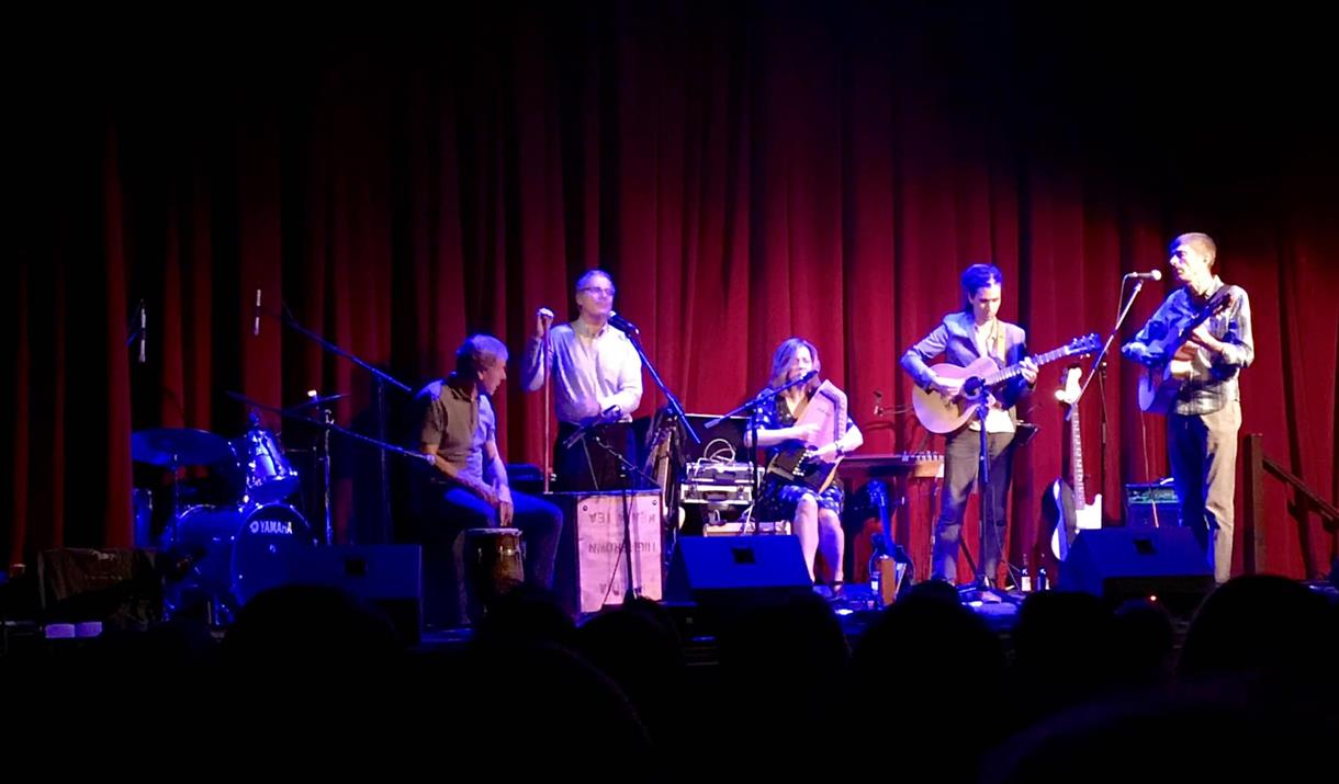 Chalk Horse Music on stage at Hailsham Pavilion