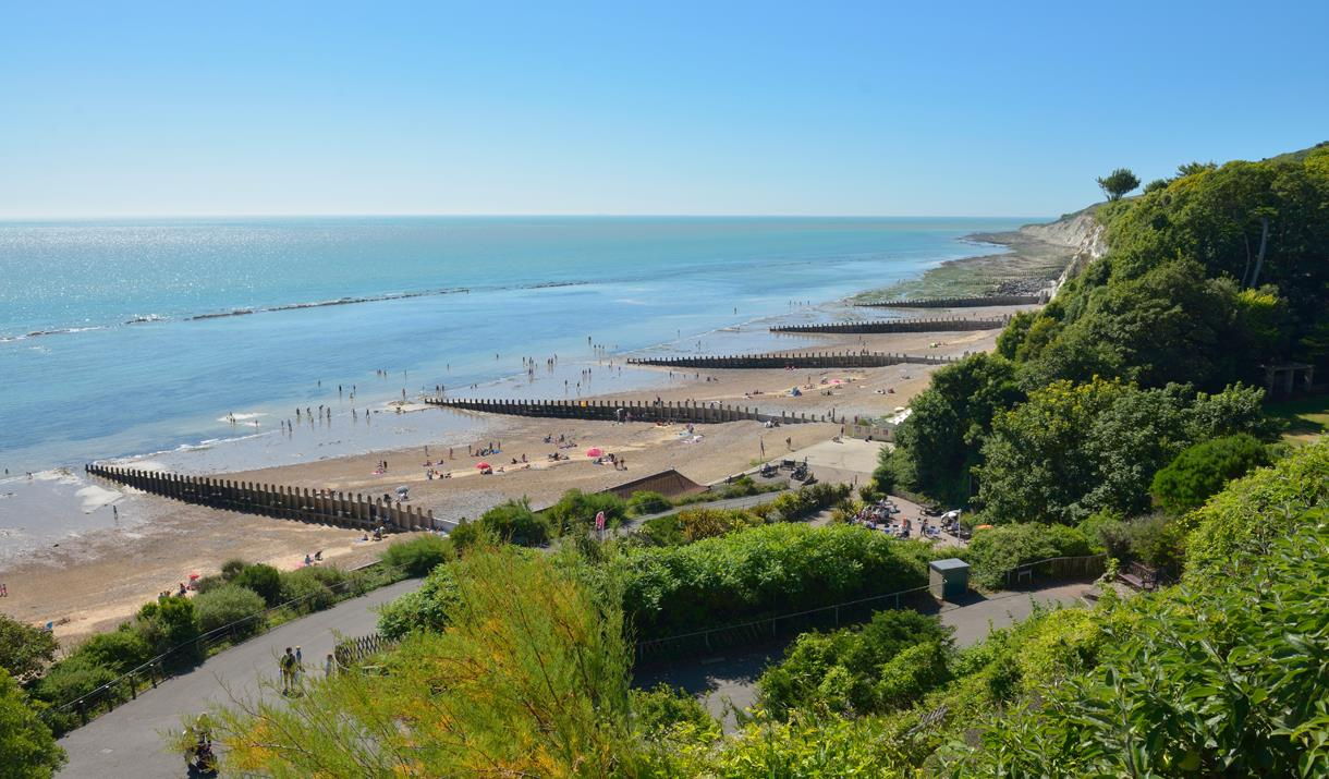 Holywell beaches please credit VisitEastbourne