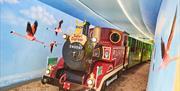 Safari Express Train at Drusillas Park