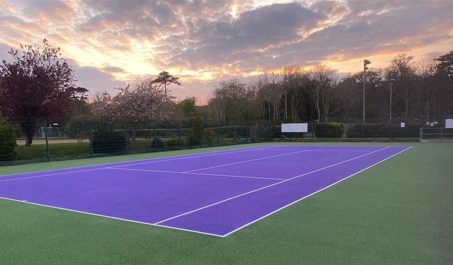 Hampden Park Tennis Courts