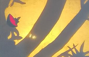 Cretaceous butterfly nest Shadow Puppet